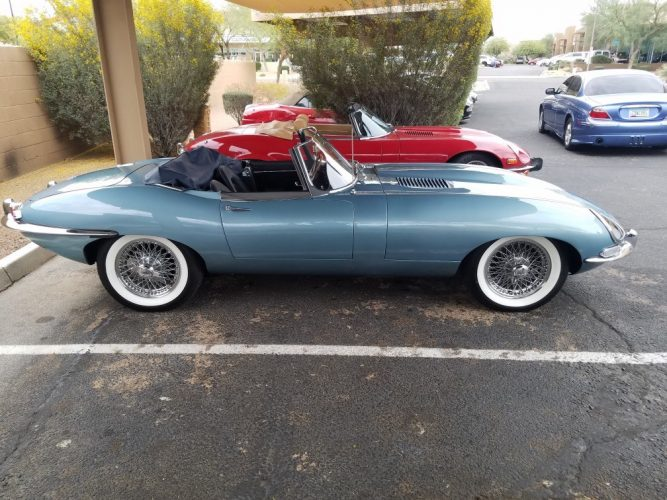 1963 Jaguar XKE Convertible